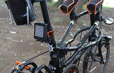 自転車用方向指示器 LEADBikeリモートコントロールバイシクルライト