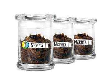 ナハラ水タバコフレーバー用ガラス容器