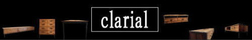 無垢木と鉄で作る家具,clarial,クラリアルシリーズ