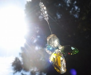 天使のパワーストーン☆虹の光
