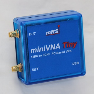 miniVNA Tinyベクトルネットワークアナライザ
