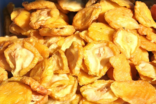 ドライフルーツに含まれる食物繊維