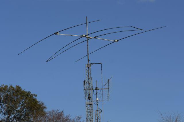 アマチュア無線用のアンテナ