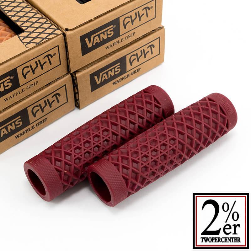 VANS x CULT ワッフルグリップ ブラッド 1インチ(25.4mm)φ