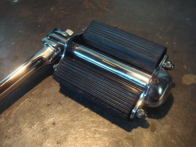 SR400/500 バイシクルキックペダル ブラック