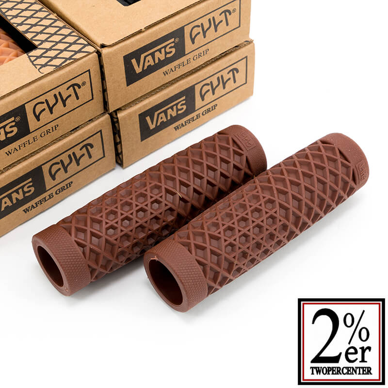 VANS x CULT ワッフルグリップ ブラウン 7/8インチ(22.2mm)φ