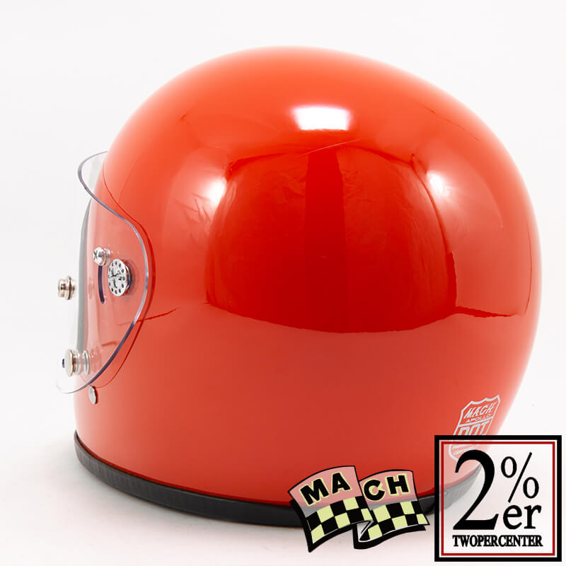 McHAL社 マックヘルメット アポロ オレンジ Apollo