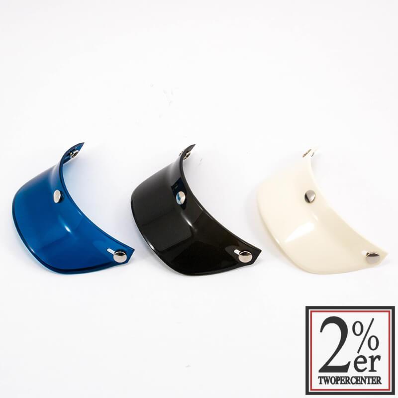 オーシャンビートルヘルメットバイザー/ホワイト BEETLE VISOR