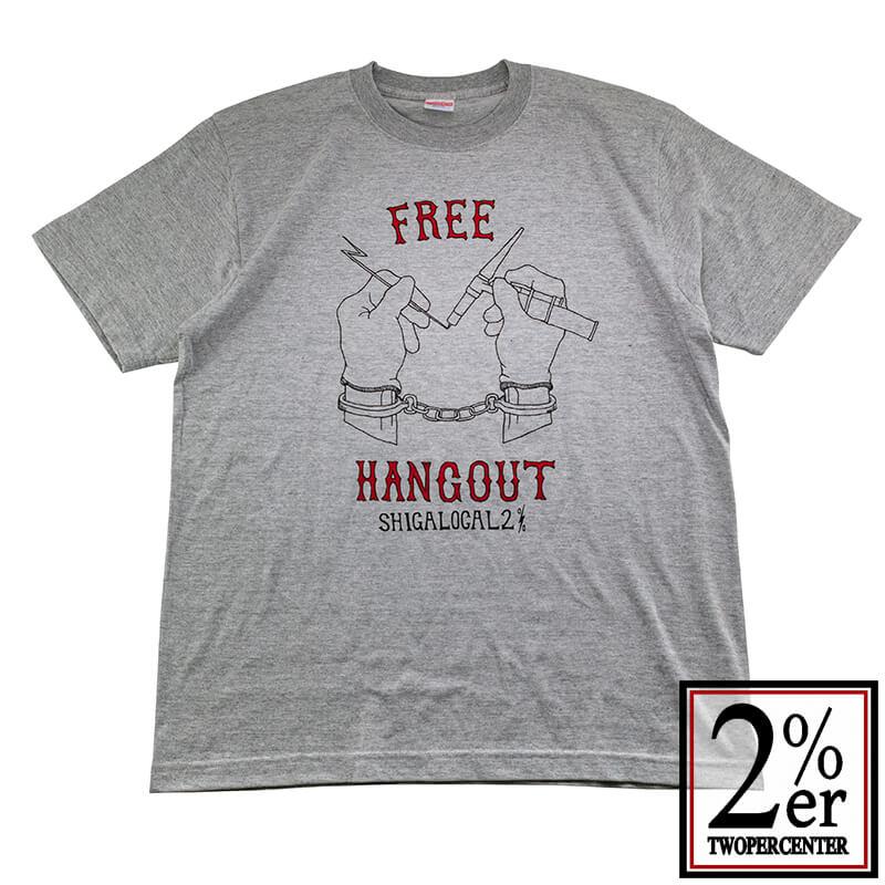 2%er (ツーパーセンター)【Original HANG OUT TEE】GRY【オリジナル Tシャツ】