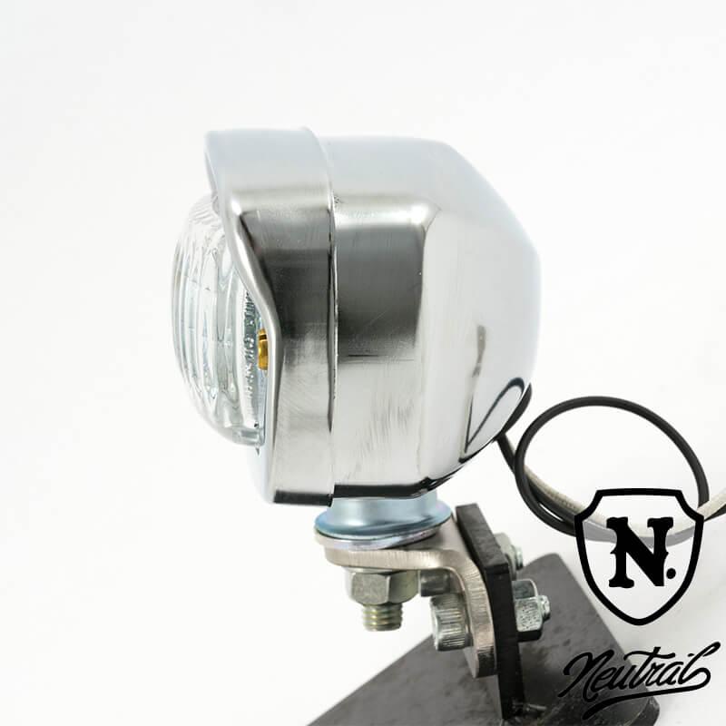 H3 ミニスクエアヘッドライト ガラスレンズ