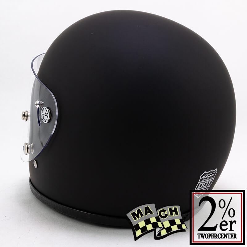 McHAL社 マックヘルメット アポロ マットブラック Apollo