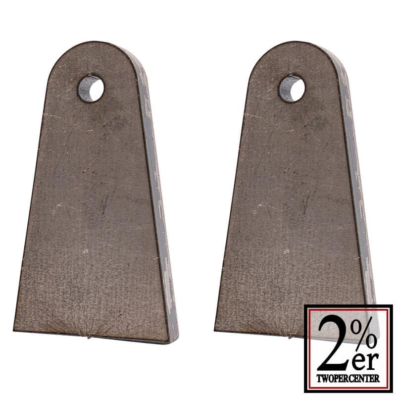 ウェルドタブ 9ミリ厚 スチール Lサイズ 2p