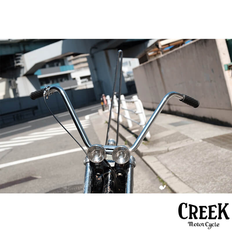 ハイバー 1インチ CREEK MOTORCYCLE製