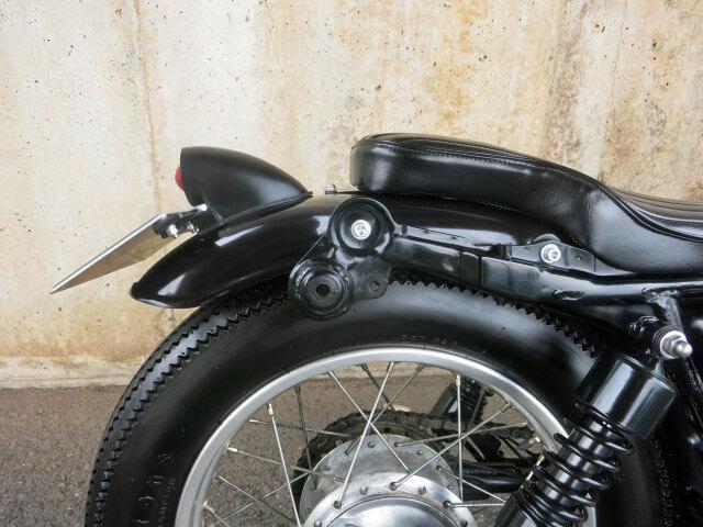 スパルトテールランプ ブラック 日本規格ナンバーサイズ
