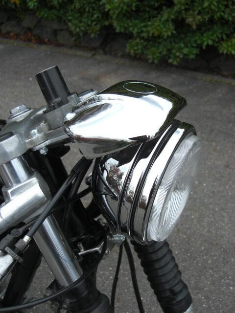 SR400/500  スポーツスタータイプ ヘッドライトキット ~02' ボルトオン