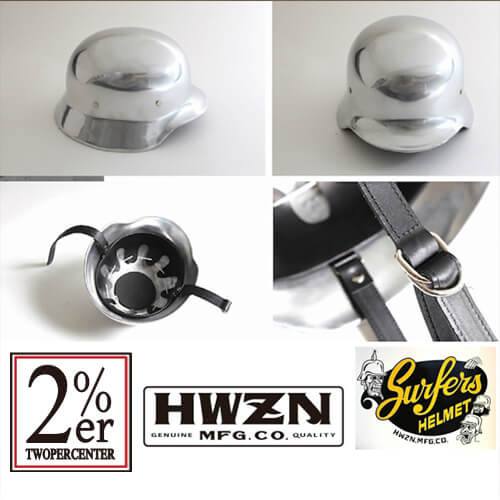 HWZN アルミ サーファーズヘルメット ハウゼンブロス