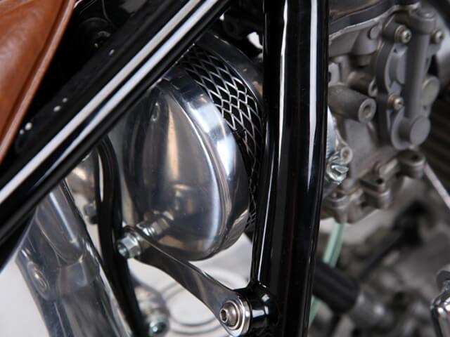 オールドタイプエアクリーナー SR400/500
