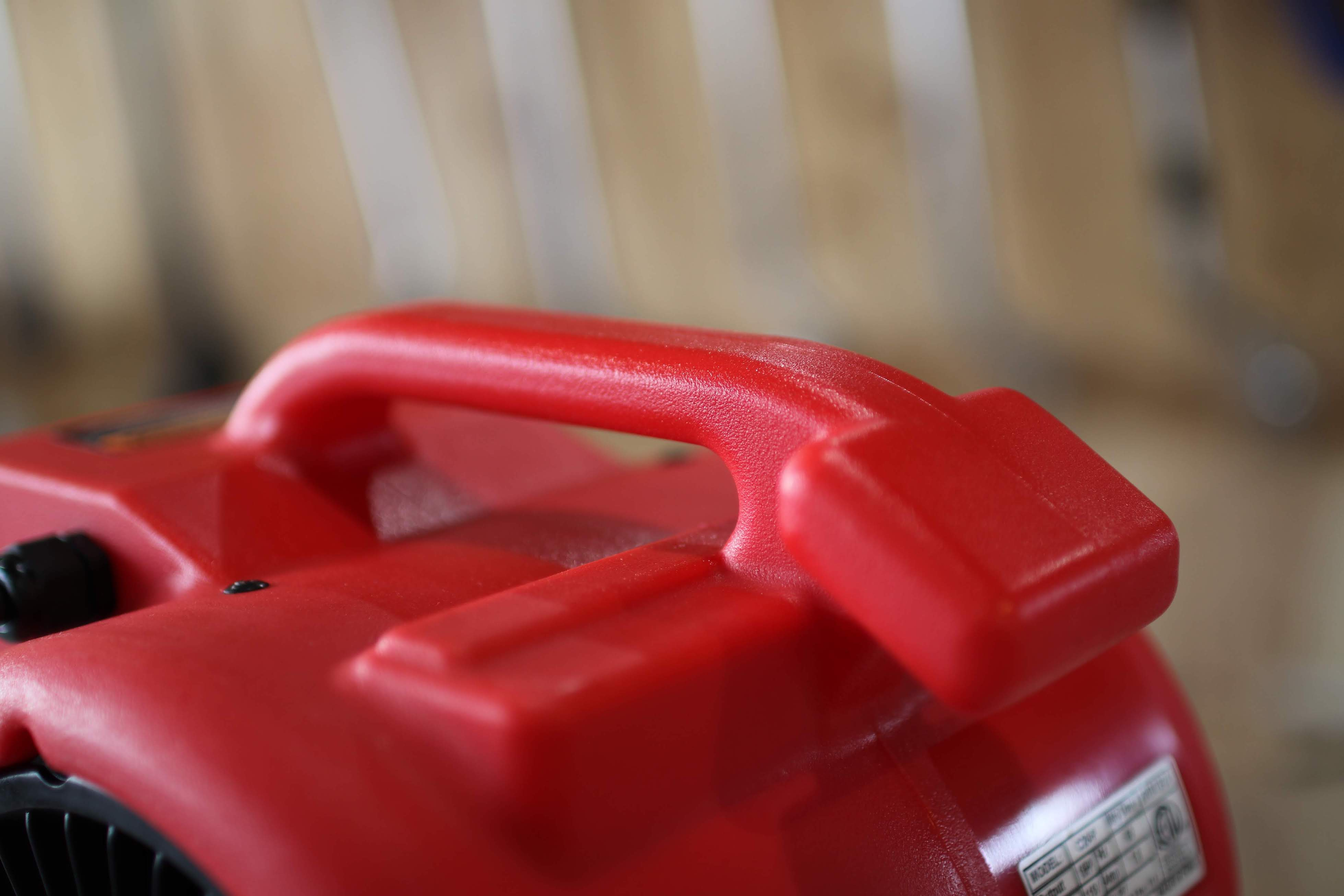 Newタイプのハンドル部分は、積み重ね可能な形状