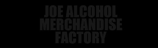 タグ部分「JOE ALCOHOL MERCHANDISE FACTORY