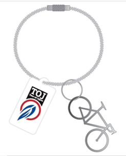 TOJ自転車型ワイヤーキーチャーム