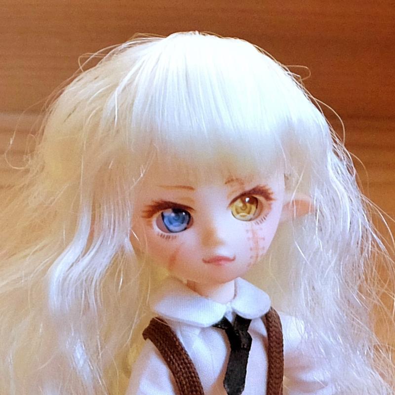 [AAK-dolls] プチフェアリー(ホワイティ)カスタム04「傷エルフ」