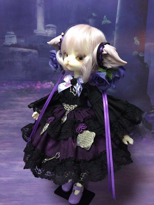 [LOVE SHOCK DROP] ハロウィン姫袖ワンピースVI ミスキティサイズ