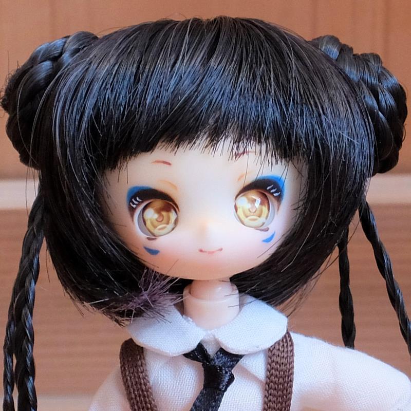 [AAK-dolls] そらのヘッド(かのん)カスタム01「あおおに」
