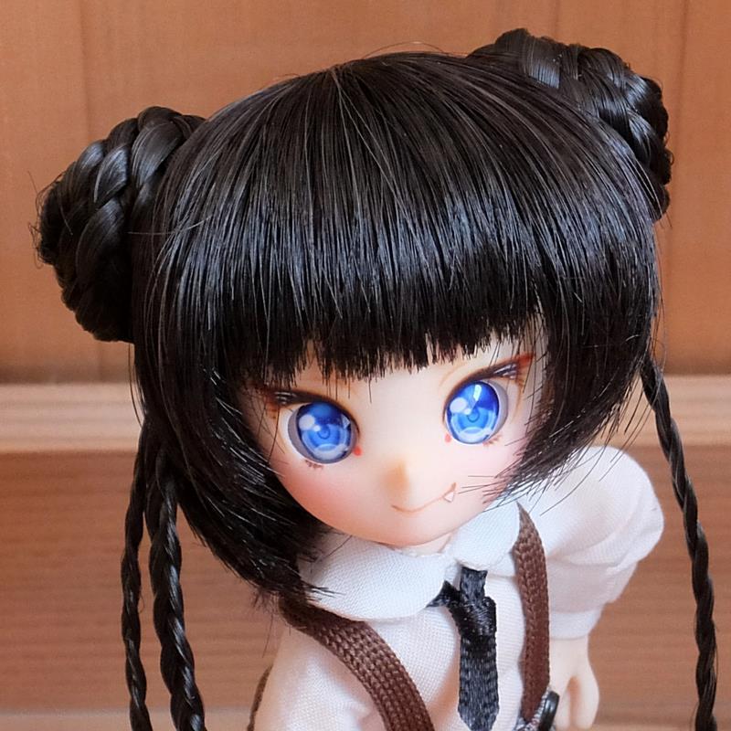 [AAK-dolls] そらのヘッド(えるふ)カスタム04「あかおに」B品