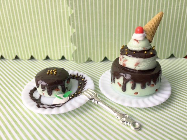 [COCOCO] チョコミントのケーキAセット