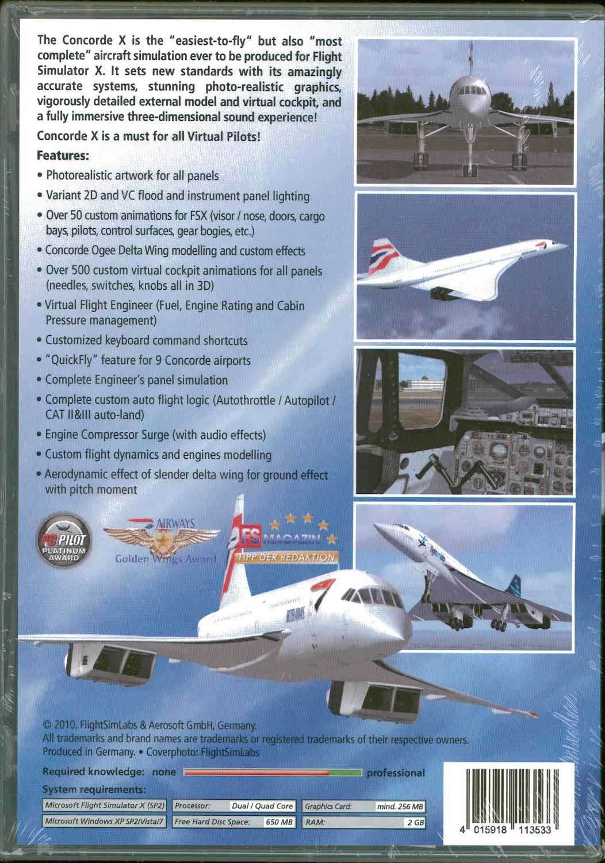 Concorde X (FSX) コンコルド - ショップKoin (ShopKoin)