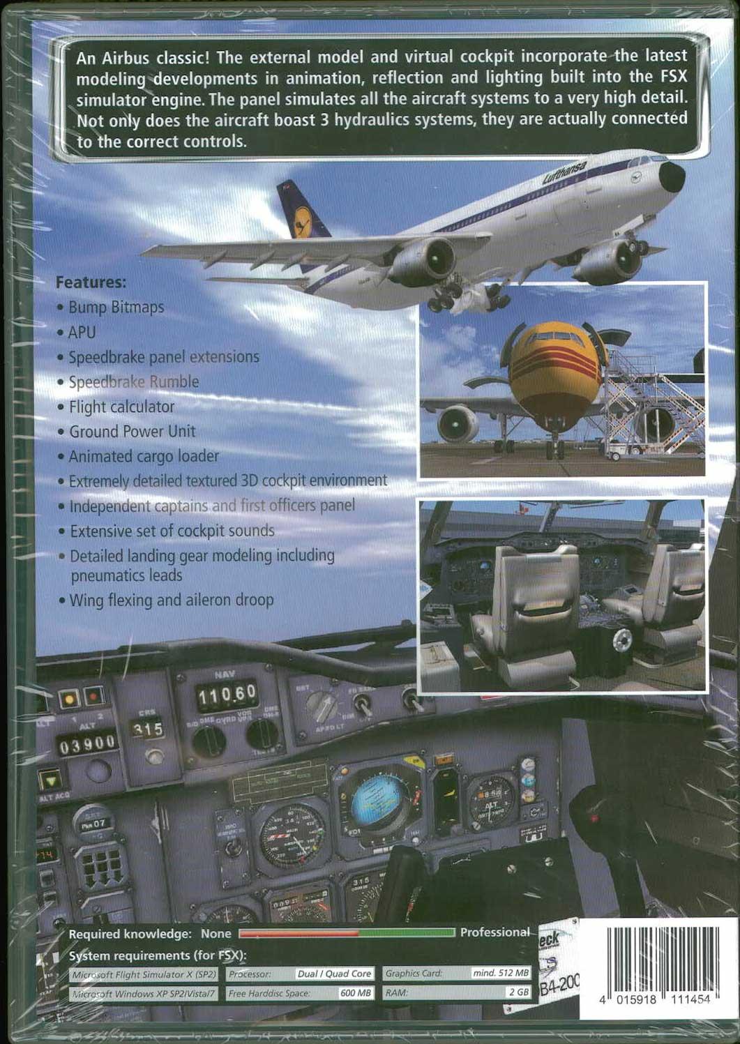 SimCheck Airbus A300 B4-200 (FSX) - ショップKoin (ShopKoin)