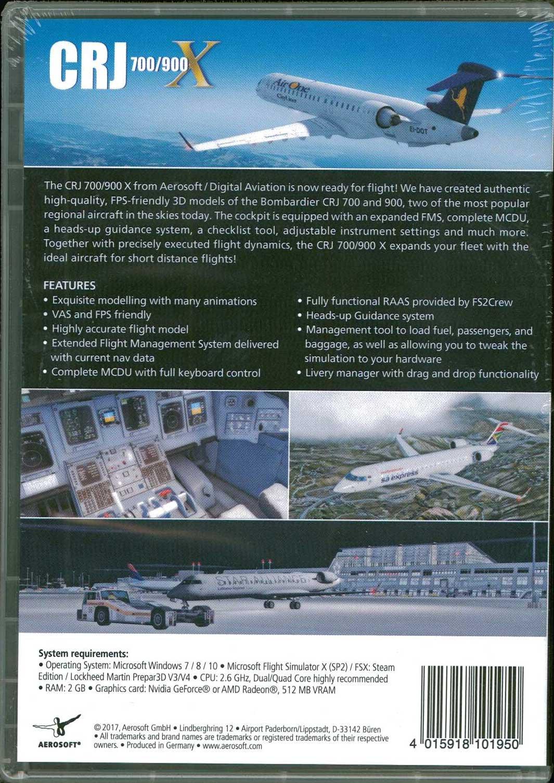 CRJ 700/900 X (FSX/FSX:SE/P3D) - ショップKoin (ShopKoin)