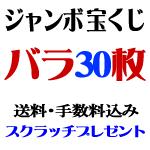 ジャンボ宝くじ・バラ30枚
