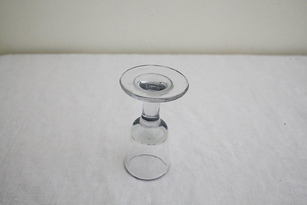 フランスアンティークリキュールグラスの画像
