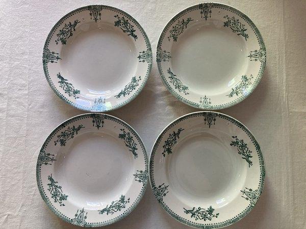サンタマングリーンスープ皿A.B.C.Dの画像