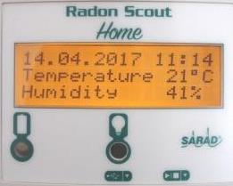 温度、湿度表示例
