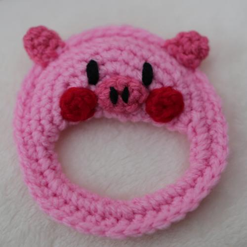編みおもちゃ(pinkぶた)