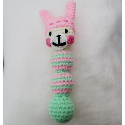 編みおもちゃ(帽子うさぎ)