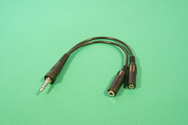 スタンダード製 変換ケーブル付属。